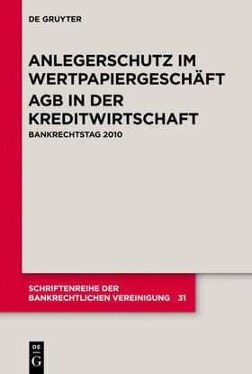 Anlegerschutz im Wertpapiergeschäft. AGB in der Kreditwirtschaft | Buch | sack.de