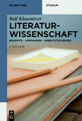 Klausnitzer |  Literaturwissenschaft | Buch |  Sack Fachmedien