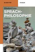 Leiss |  Sprachphilosophie | eBook | Sack Fachmedien