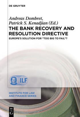 Kenadjian | The Bank Recovery and Resolution Directive | Buch | sack.de