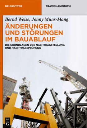 Weise / Müns-Mang | Änderungen und Störungen im Bauablauf | Buch | sack.de