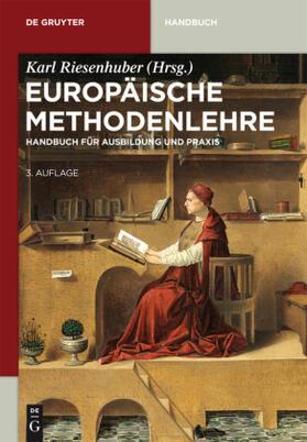 Riesenhuber   Europäische Methodenlehre   Buch   sack.de
