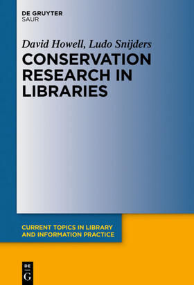 Howell / Snijders | Conservation Research in Libraries | E-Book | sack.de