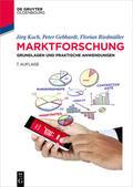 Koch / Riedmüller / Gebhardt    Marktforschung   eBook   Sack Fachmedien