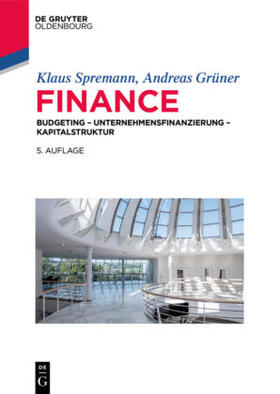 Spremann / Grüner | Finance | Buch | sack.de
