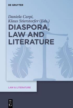 Stierstorfer / Carpi | Diaspora, Law and Literature | Buch | sack.de