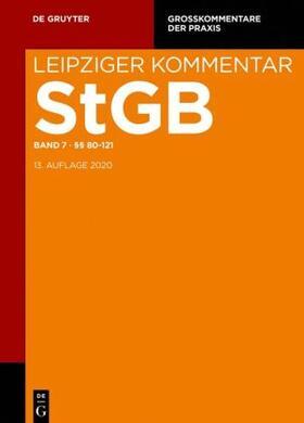 Barthe / Coen / Engelstätter   Strafgesetzbuch. Leipziger Kommentar §§ 80-121   Buch   sack.de