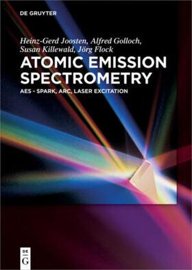 Joosten / Golloch / Flock   Atomic Emission Spectrometry   Buch   sack.de