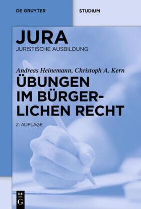 Heinemann / Kern   Übungen im Bürgerlichen Recht   Buch   sack.de