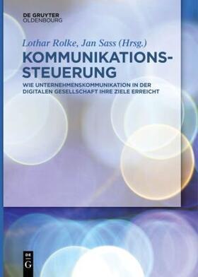 Rolke / Sass   Kommunikationssteuerung   Buch   sack.de