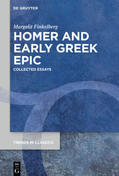 Finkelberg |  Homer and Early Greek Epic | Buch |  Sack Fachmedien