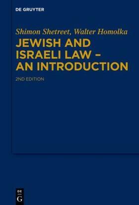 Shetreet / Homolka | Jewish and Israeli Law - An Introduction | Buch | sack.de