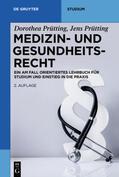 Prütting / Prütting    Medizin- und Gesundheitsrecht   Buch    Sack Fachmedien