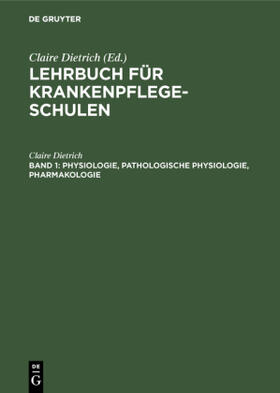 Dietrich | Physiologie, pathologische Physiologie, Pharmakologie | Buch | sack.de