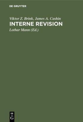 Brink / Cashin / Mann | Interne Revision | Buch | sack.de