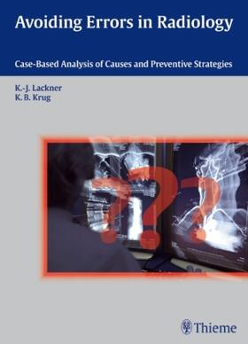 Lackner / Krug | Avoiding Errors in Radiology | Buch | sack.de