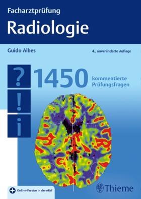 Albes   Facharztprüfung Radiologie   Buch   sack.de