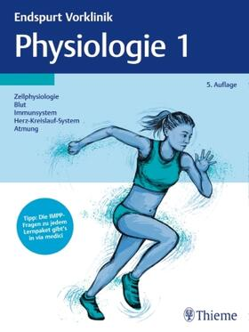 Endspurt Vorklinik: Physiologie. Tl.1 | Buch | sack.de