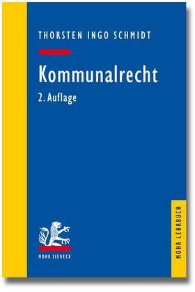Schmidt | Kommunalrecht | Buch | sack.de