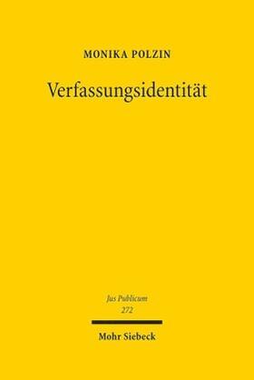 Polzin | Verfassungsidentität | Buch | sack.de
