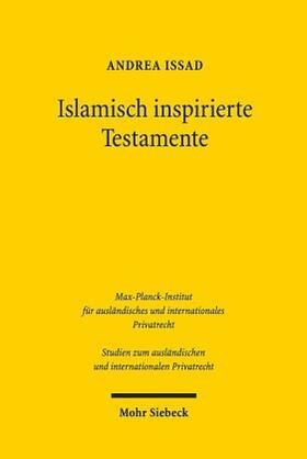 Issad   Islamisch inspirierte Testamente   Buch   Sack Fachmedien