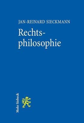 Sieckmann | Rechtsphilosophie | Buch | Sack Fachmedien