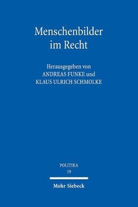 Funke / Schmolke | Menschenbilder im Recht | Buch | sack.de