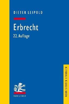 Leipold | Erbrecht | Buch | sack.de