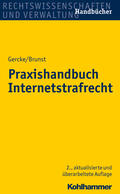 Gercke / Brunst Praxishandbuch Internetstrafrecht   Sack Fachmedien