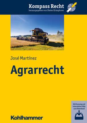 Martínez   Agrarrecht   Buch   Sack Fachmedien