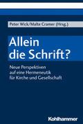 Wick / Cramer |  Allein die Schrift? | Buch |  Sack Fachmedien