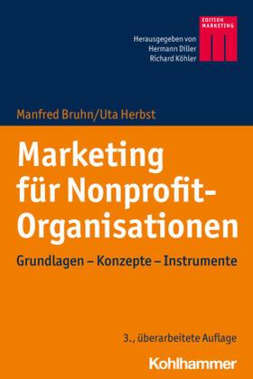 Bruhn / Herbst | Marketing für Nonprofit-Organisationen | Buch | sack.de
