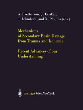 Baethmann / Eriskat / Lehmberg | Mechanisms of Secondary Brain Damage from Trauma and Ischemia | Buch | sack.de