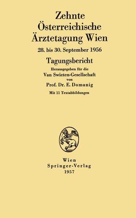 Domanig | Zehnte Österreichische Ärztetagung Wien | Buch | sack.de