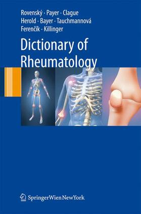 Payer / Rovensky   Dictionary of Rheumatology   Buch   sack.de