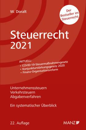 Doralt | Steuerrecht 2021 | Buch | sack.de