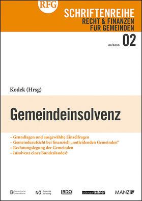 Kodek | Gemeindeinsolvenz | Buch | sack.de