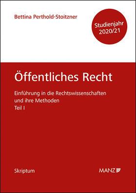 Perthold-Stoitzner | Öffentliches Recht | Buch | sack.de