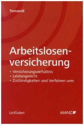 Tomandl   Arbeitslosenversicherung   Buch   sack.de