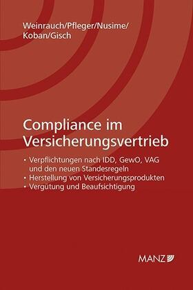 Weinrauch / Pfleger / Nusime | Compliance im Versicherungsvertrieb | Buch | sack.de