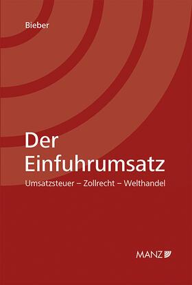 Bieber   Der Einfuhrumsatz   Buch   sack.de