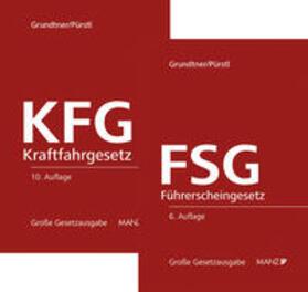 Grundtner / Pürstl | Paket KFG 10. Aufl + FSG 6. Aufl | Buch | sack.de