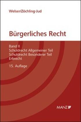 Welser / Zöchling-Jud   Grundriss des bürgerlichen Rechts   Buch   sack.de