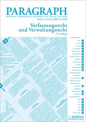 Leitl-Staudinger | Paragraph - Verfassungs- und Verwaltungsrecht | Buch | sack.de
