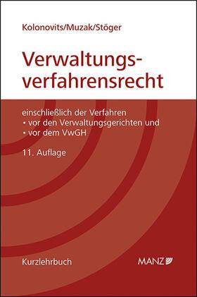 Kolonovits / Muzak / Stöger | Grundriss des österreichischen Verwaltungsverfahrensrechts | Buch | sack.de