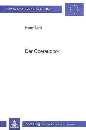 Bohli   Der Oberauditor   Buch   sack.de