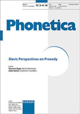 Zygis / Malisz / Zygis | Slavic Perspectives on Prosody | Buch | sack.de
