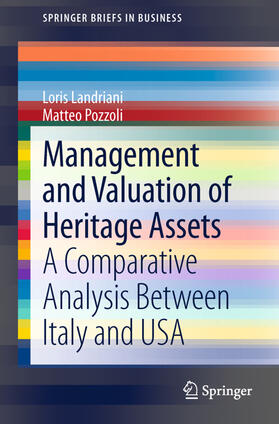 Landriani / Pozzoli   Management and Valuation of Heritage Assets   Buch   sack.de