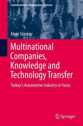 Sönmez   Multinational Companies, Knowledge, and Technology Transfer   Buch   sack.de