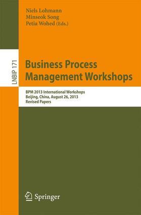 Lohmann / Song / Wohed | Business Process Management Workshops | Buch | sack.de